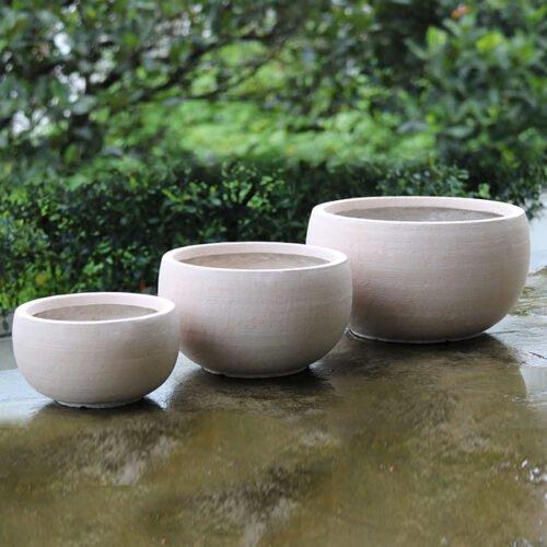 Zsac-96001 - fiber clay pot